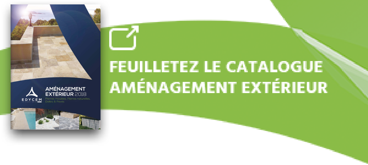 Edycem ppl nos produits pour l 39 am nagement ext rieur for Catalogue amenagement exterieur